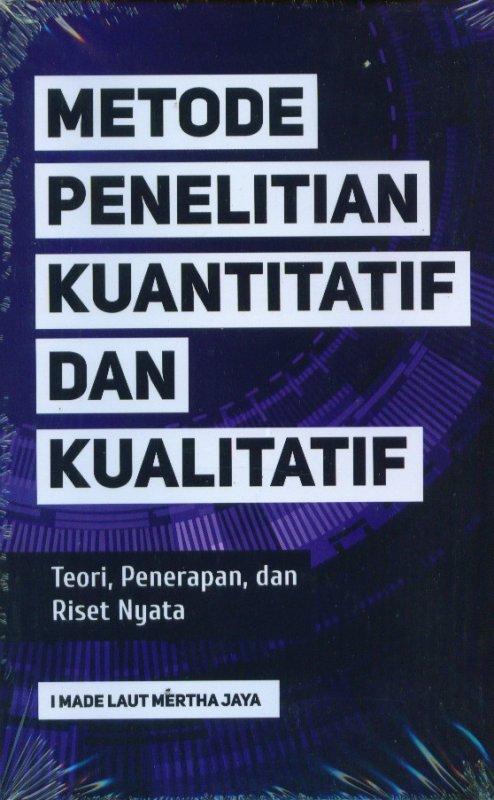 Cover Buku Metode Penelitian Kuantitatif Dan Kualitatif