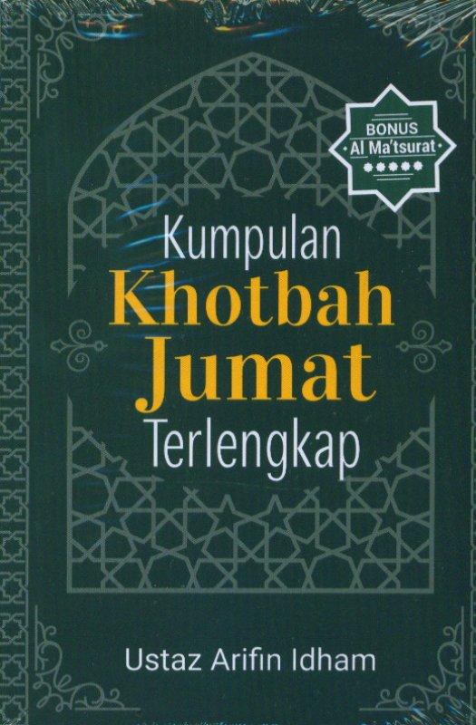Cover Buku Kumpulan Khotbah Jumat Terlengkap