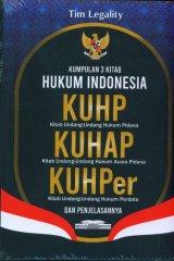 Kumpulan 3 Kitab Hukum Indonesia, KUHP, KUHAP, KUHPer