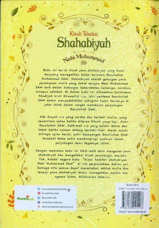 Cover Belakang Buku Kisah Teladan Shahabiyah Nabi Muhammad