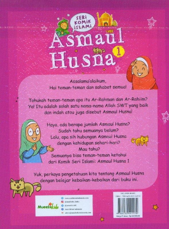 Cover Belakang Buku Seri Komik Islami: Asmaul Husna 1