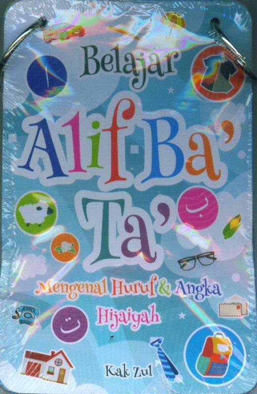 Cover Buku Kartu Belajar Alif Ba