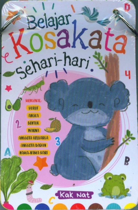 Cover Buku Kartu Belajar Kosakata Sehari-hari