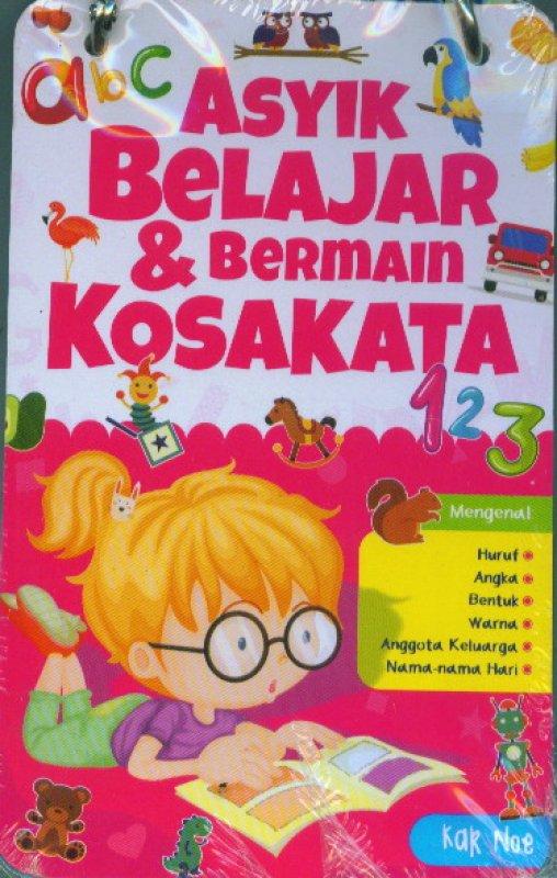 Cover Buku Kartu Asyik Belajar & Bermain Kosakata
