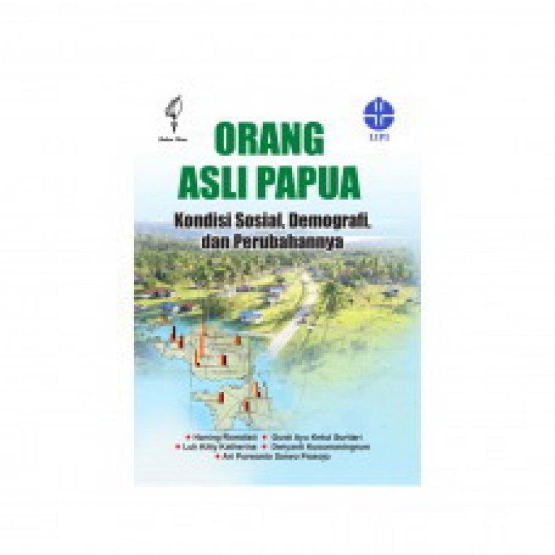 Cover Buku Orang Asli Papua