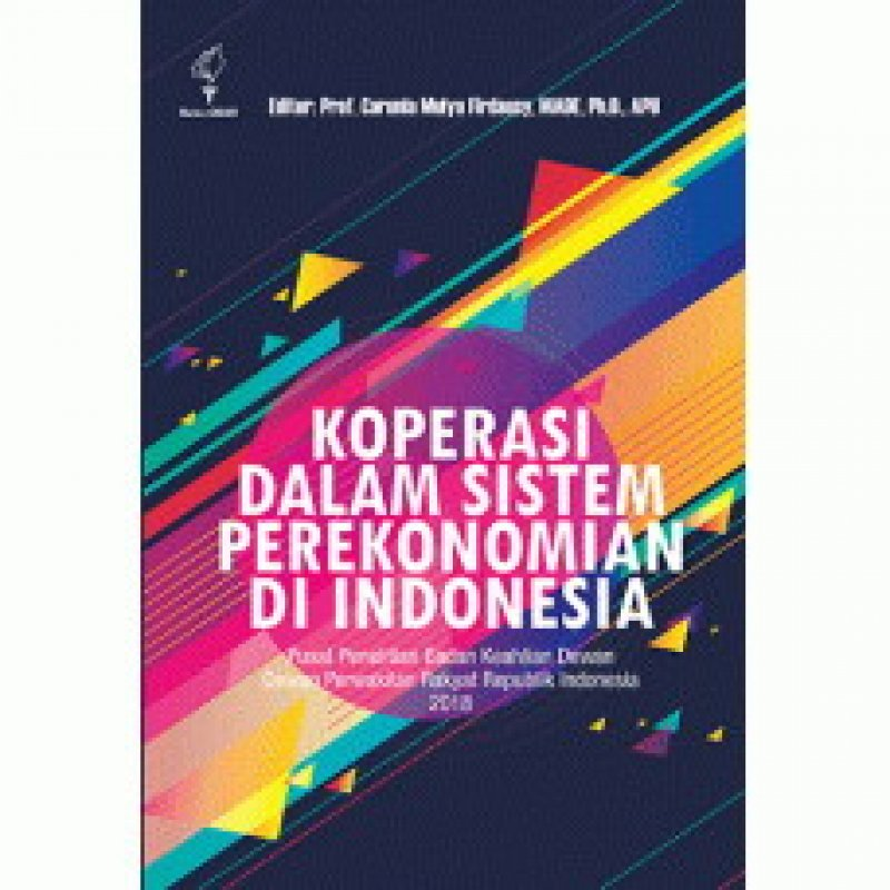 Cover Buku Koperasi dalam Sistem Perekonomian Indonesia