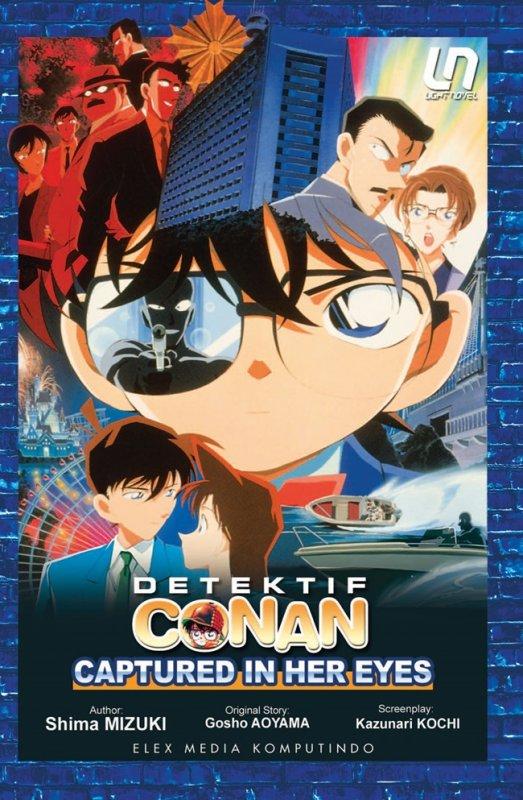 Cover Buku Light Novel Detektif Conan: Captured in Her Eyes