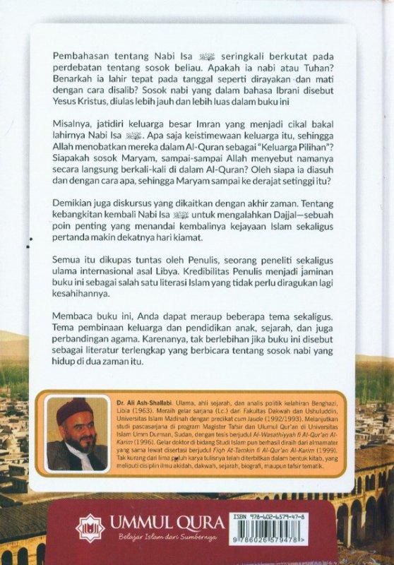 Cover Belakang Buku ISA BIN MARYAM