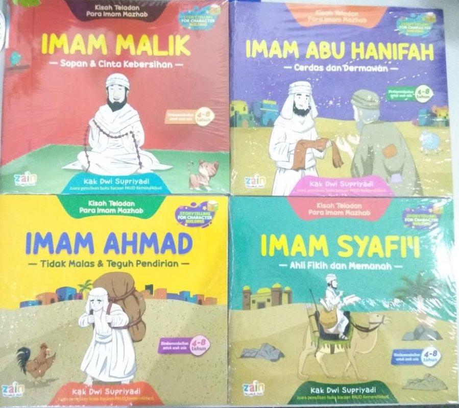 Cover Buku Kisah Empat Imam Mazhab