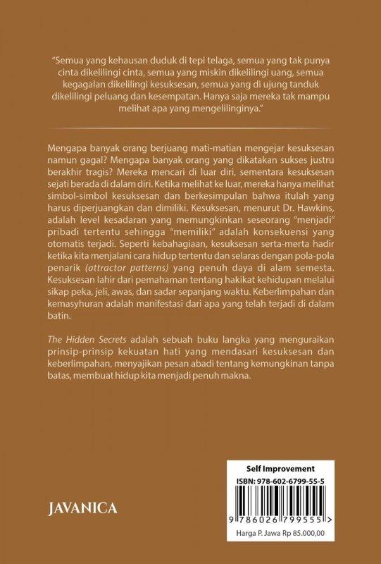 Cover Belakang Buku The Hidden Secrets (Pre-Order)