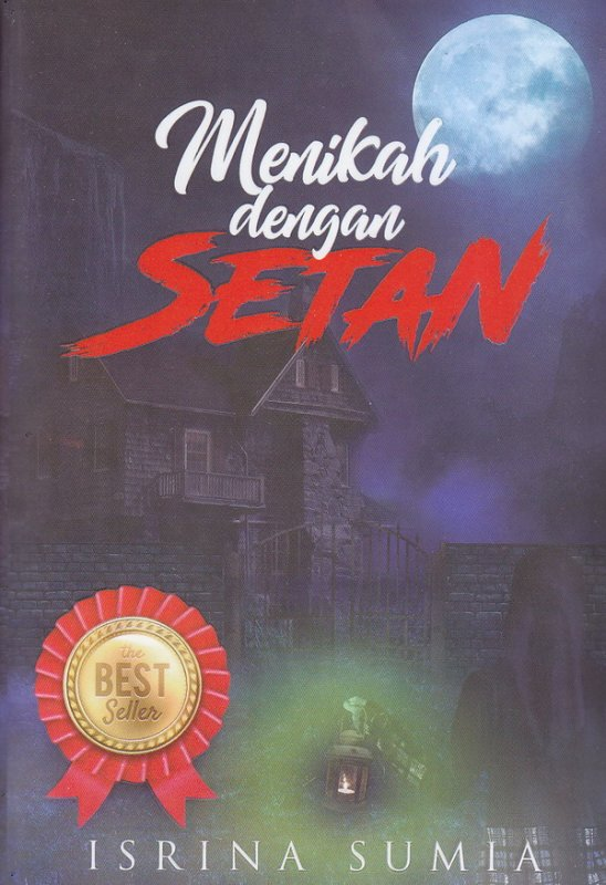Cover Buku Menikah Dengan Setan