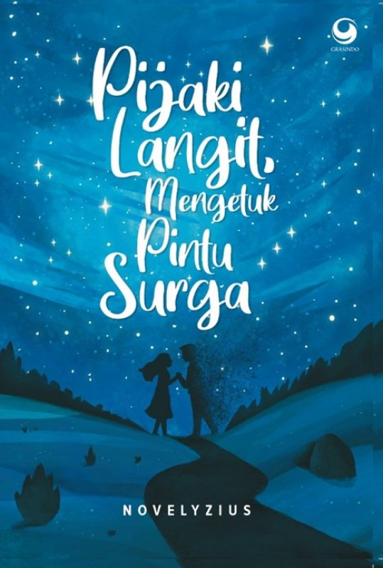 Cover Buku Pijaki Langit Mengetuk Pintu Surga-novel romance