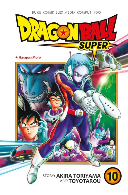 Cover Buku Dragon Ball Super Vol. 10