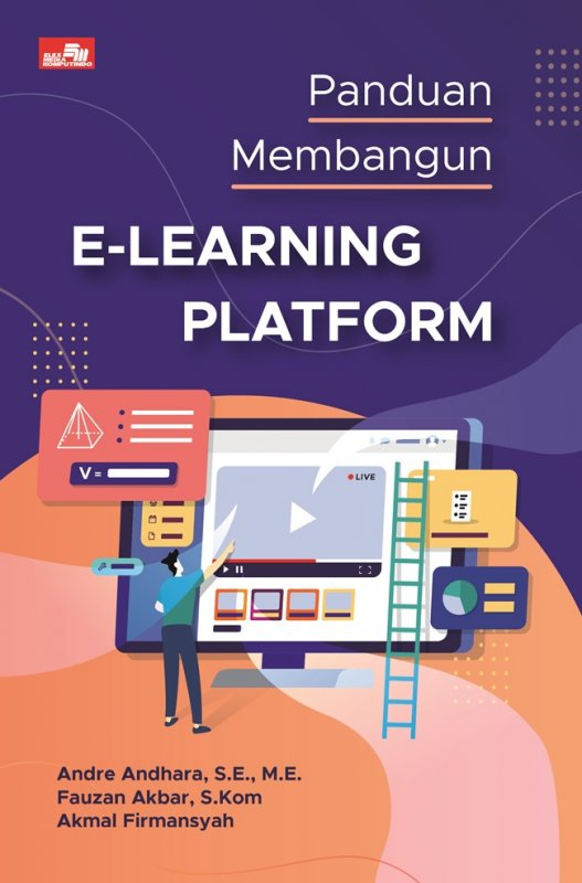 Cover Buku Panduan Membangun E-Learning Platform