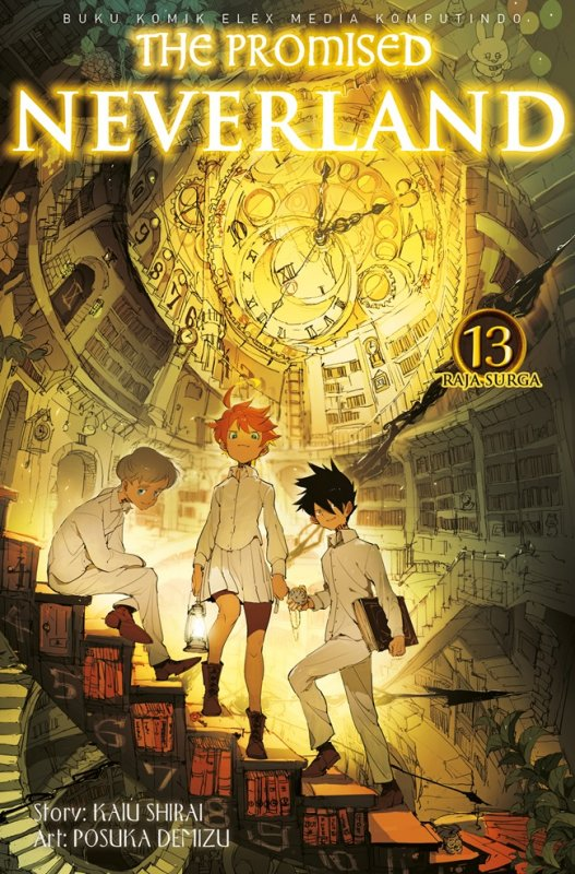 Cover Buku The Promised Neverland 13