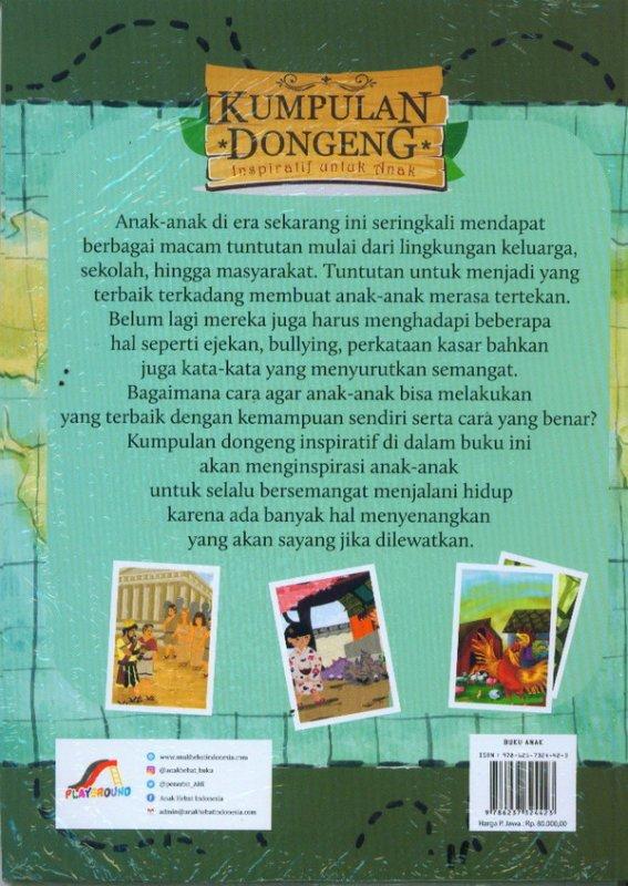 Cover Belakang Buku Kumpulan Dongeng Inspirasi Untuk Anak