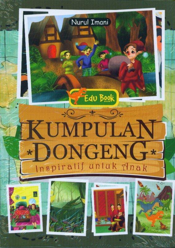 Cover Buku Kumpulan Dongeng Inspirasi Untuk Anak
