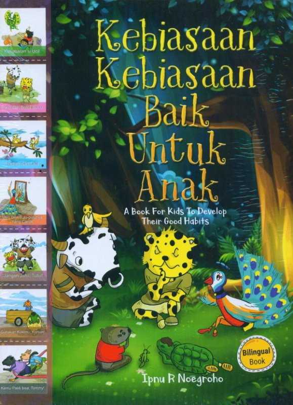 Cover Buku Kebiasaan-Kebiasaan Baik Untuk Anak