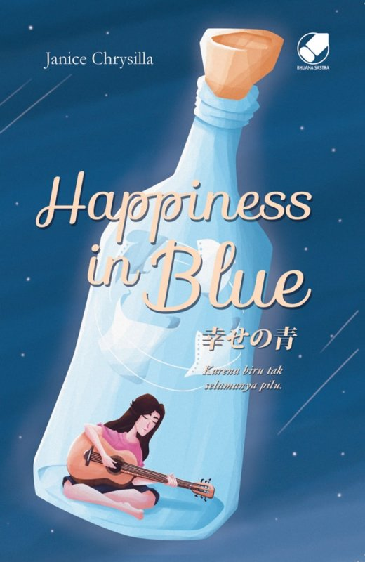 Cover Buku Happiness In Blue-novel