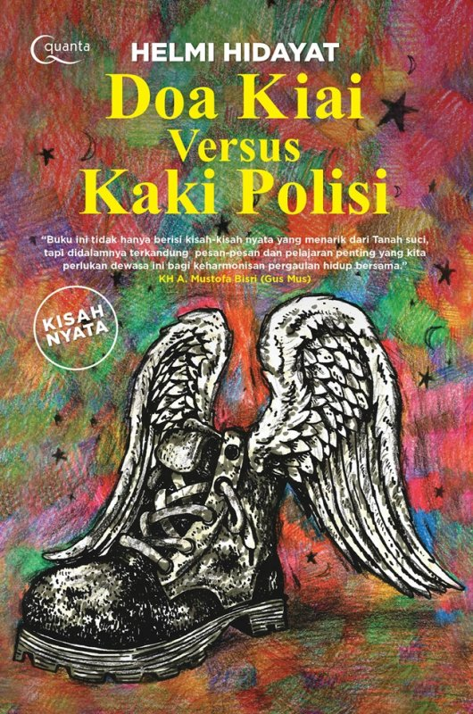 Cover Buku Doa Kiai versus Kaki Polisi-kumpulan kisah nyata