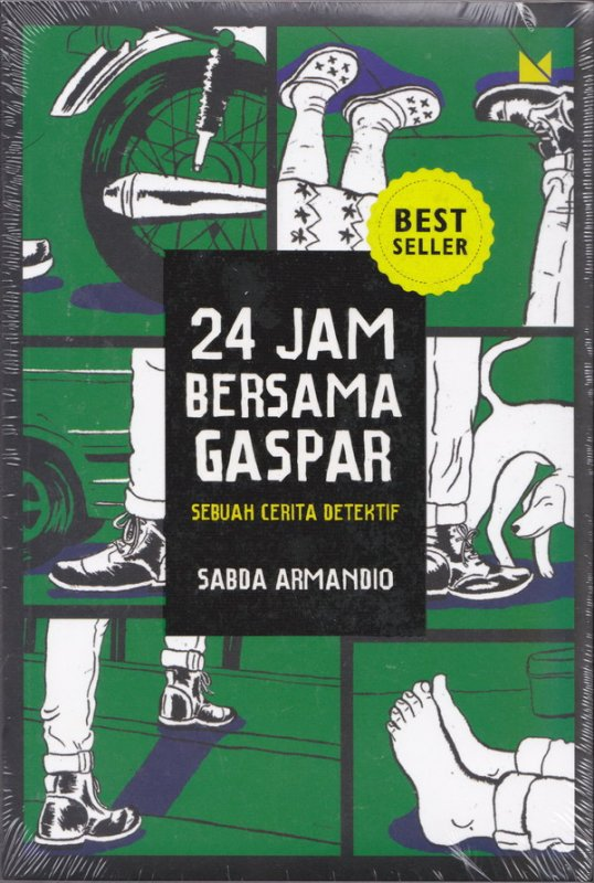 Cover Buku 24 Jam Bersama Gaspar (New Cover)
