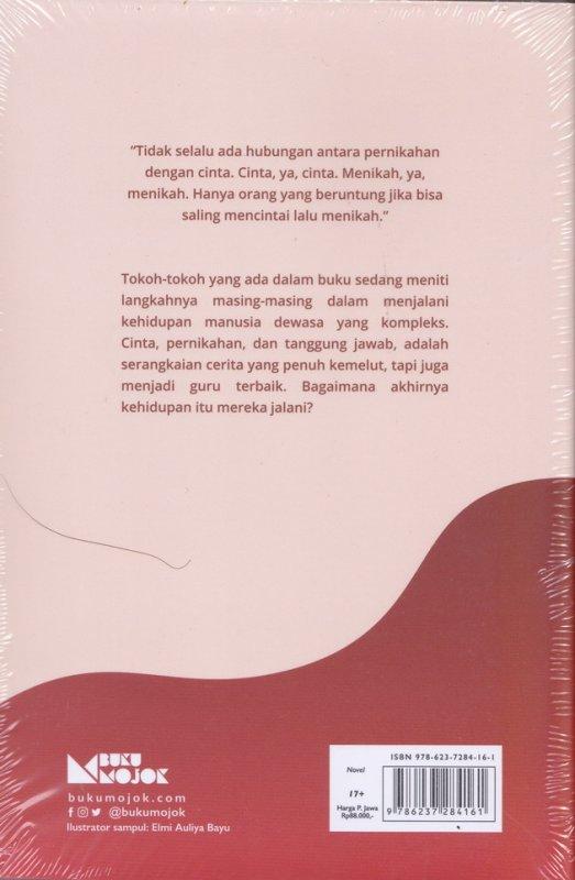 Cover Belakang Buku Seorang Laki-Laki Yang Keluar Dari Rumah (New Cover)