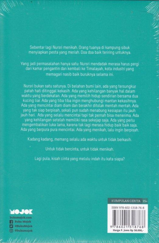 Cover Belakang Buku Waktu untuk Tidak Menikah (New Cover)