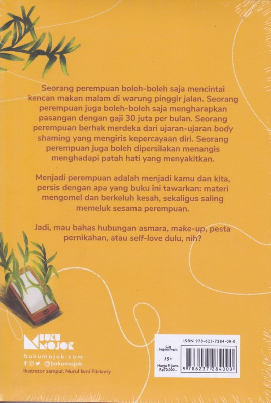 Cover Belakang Buku Woe-Man Relationship (New Cover) - Perempuan Dengan Segala Hubungannya