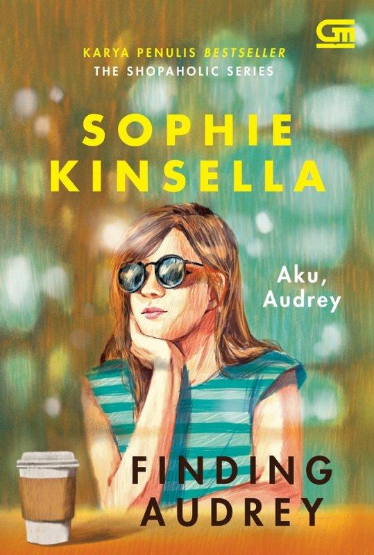 Cover Buku Aku, Audrey (Finding Audrey) novel cover baru 2020