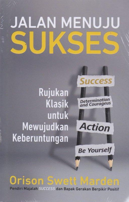 Cover Buku Jalan Menuju Sukses