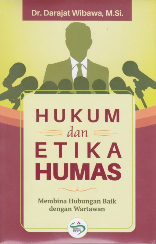 Cover Buku Hukum dan Etika HUMAS