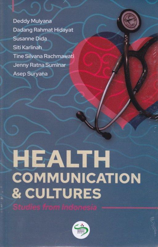 Cover Buku Health Communication & Cultures