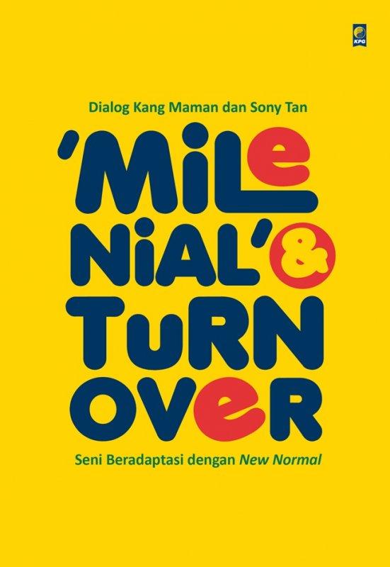 Cover Buku Milenial & Turnover seni beradaptasi dengan New normal