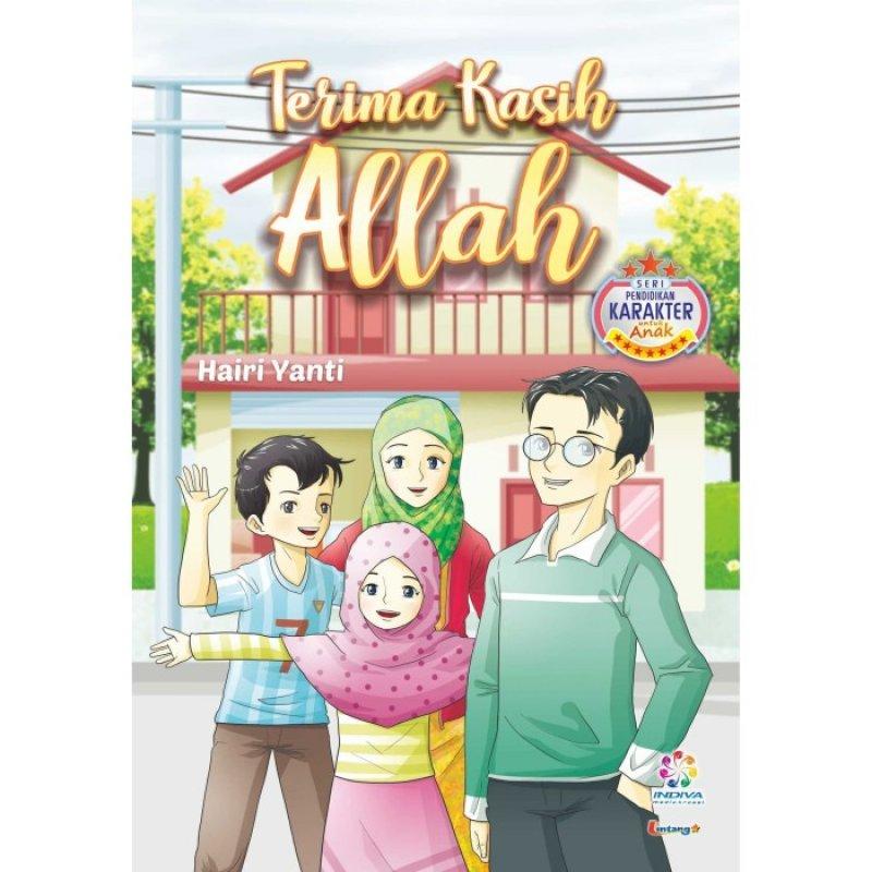 Cover Buku Terima kasih Allah