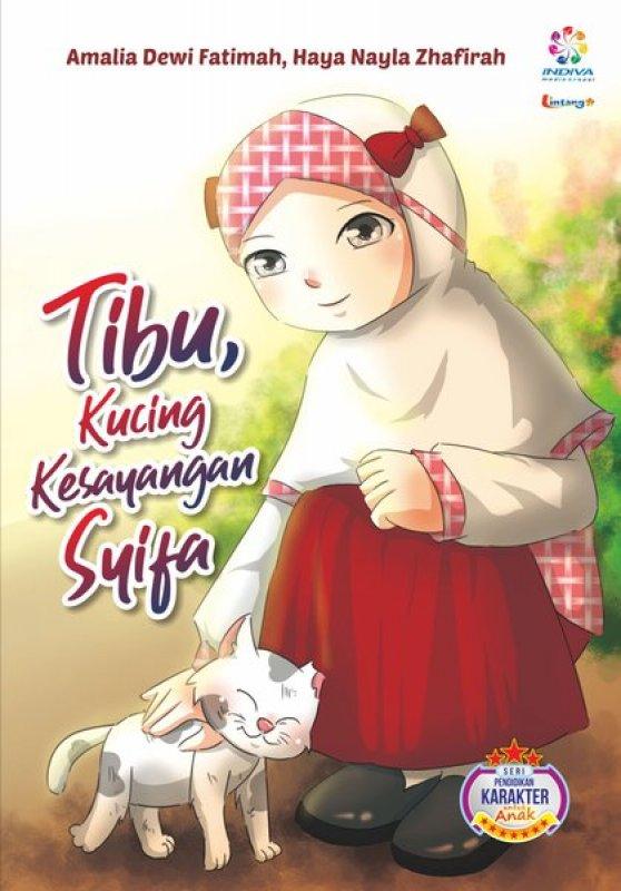 Cover Buku Tibu , Kucing kesayangan SYIFA