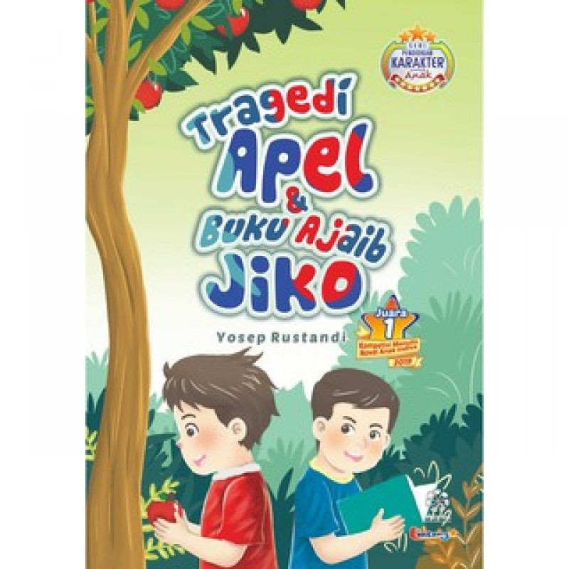 Cover Buku TRAGEDI APEL DAN BUKU AJAIB JIKO