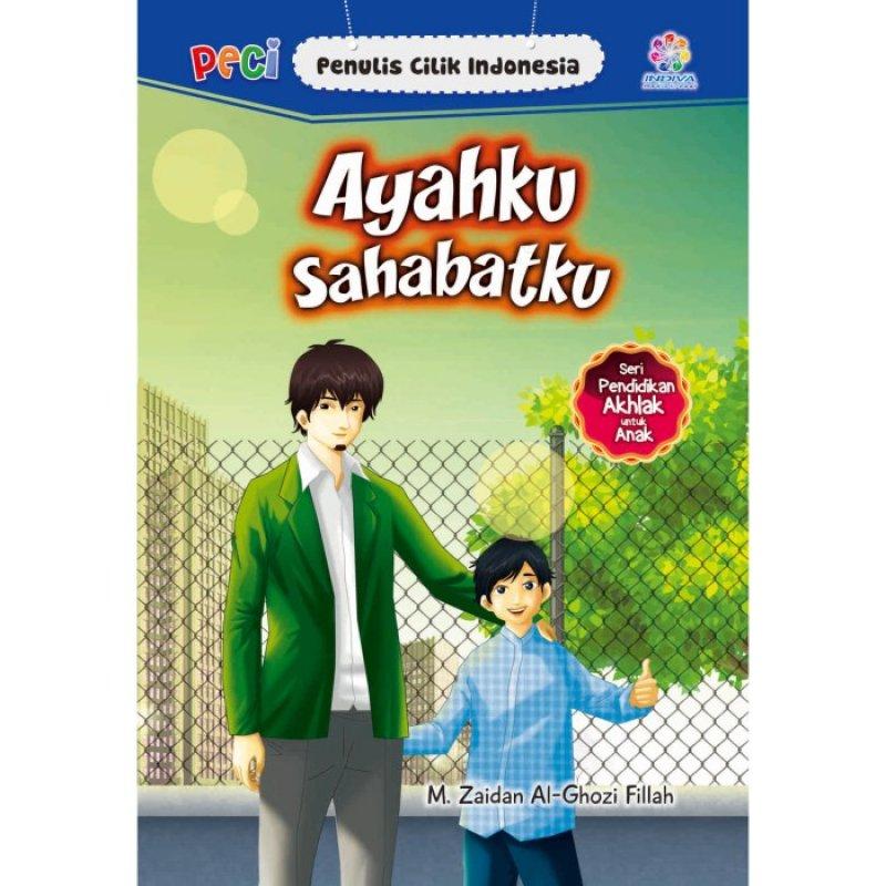 Cover Buku Ayahku Sahabatku