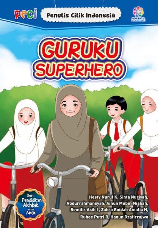 Cover Buku GURUKU Superhero