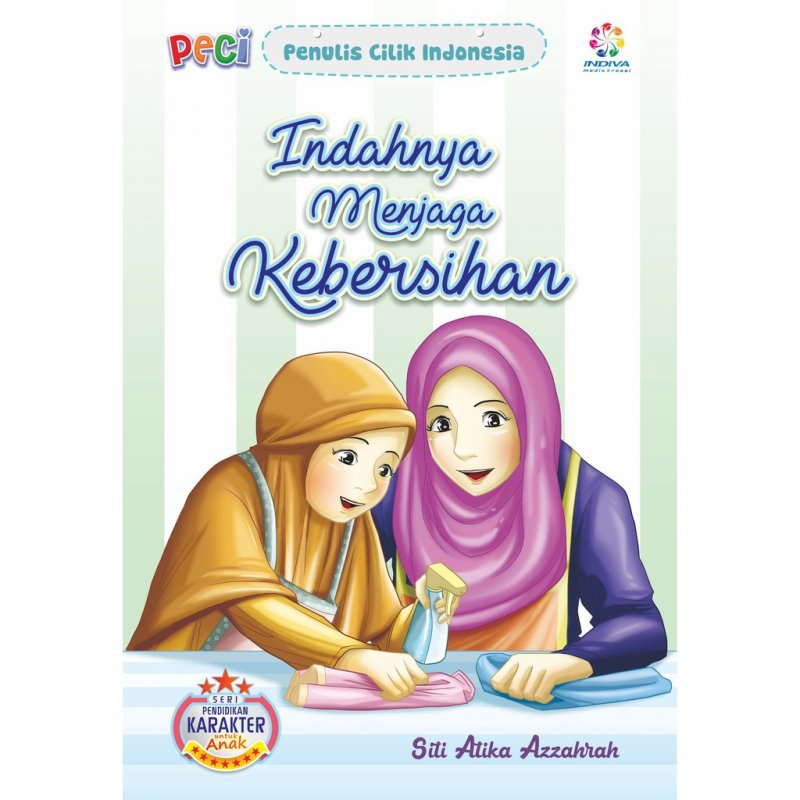 Cover Buku Indahnya Menjaga Kebersihan