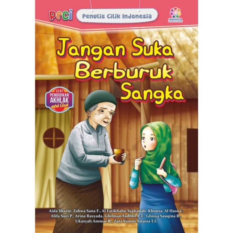 Cover Buku Jangan Suka Berburuk Sangka