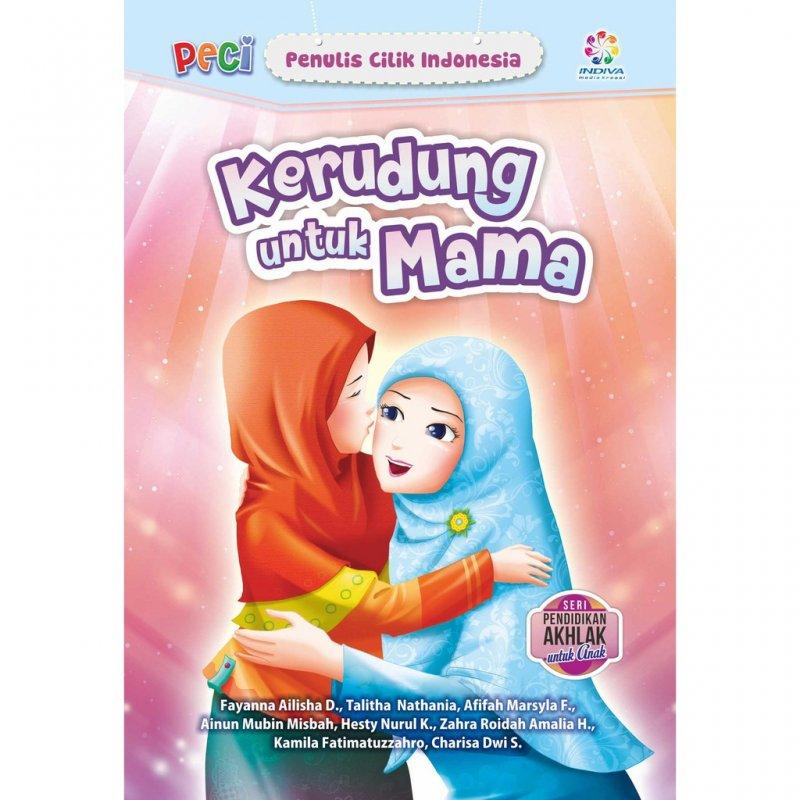 Cover Buku Kerudung untuk Mama