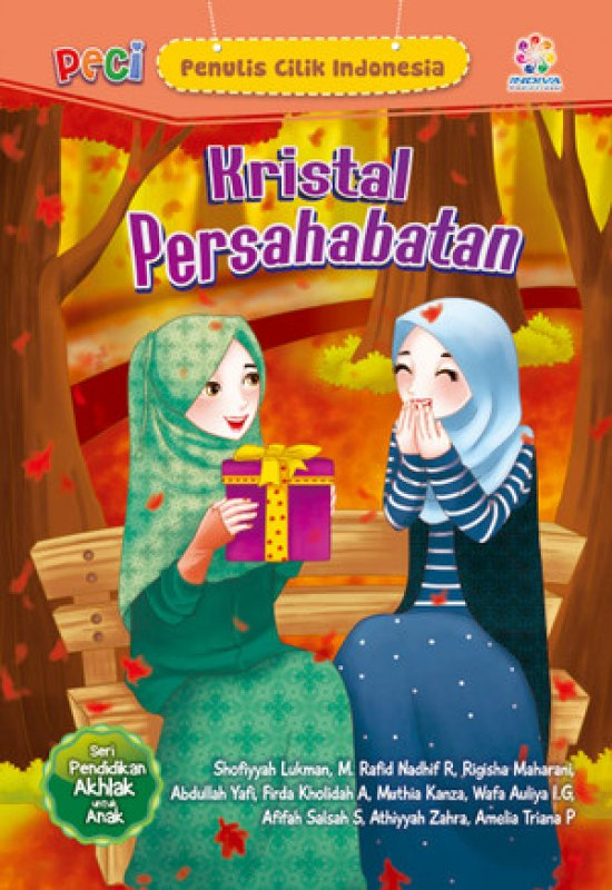 Cover Buku Kristal Persahabatan