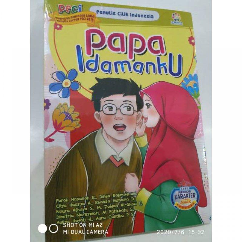 Cover Buku Papa Idamanku