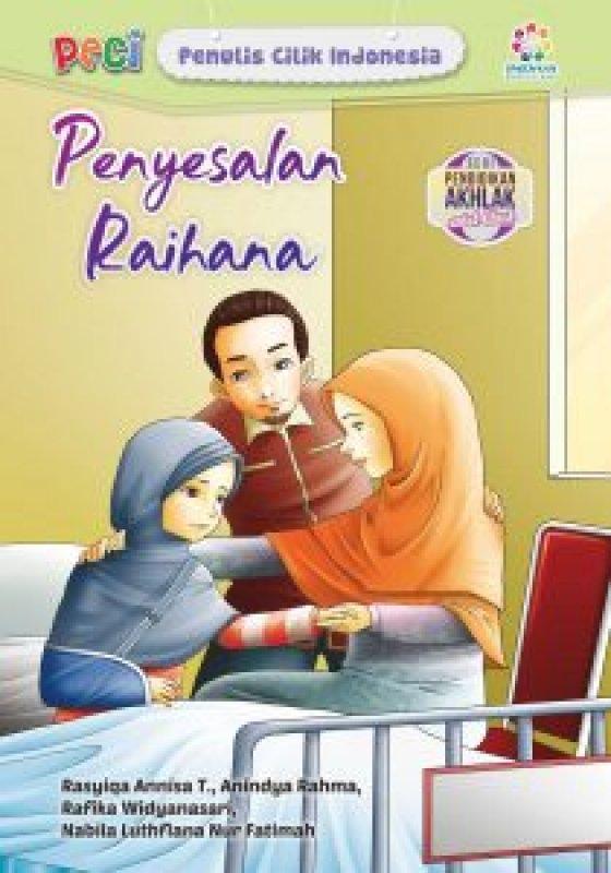 Cover Buku Penyesalan Raihana