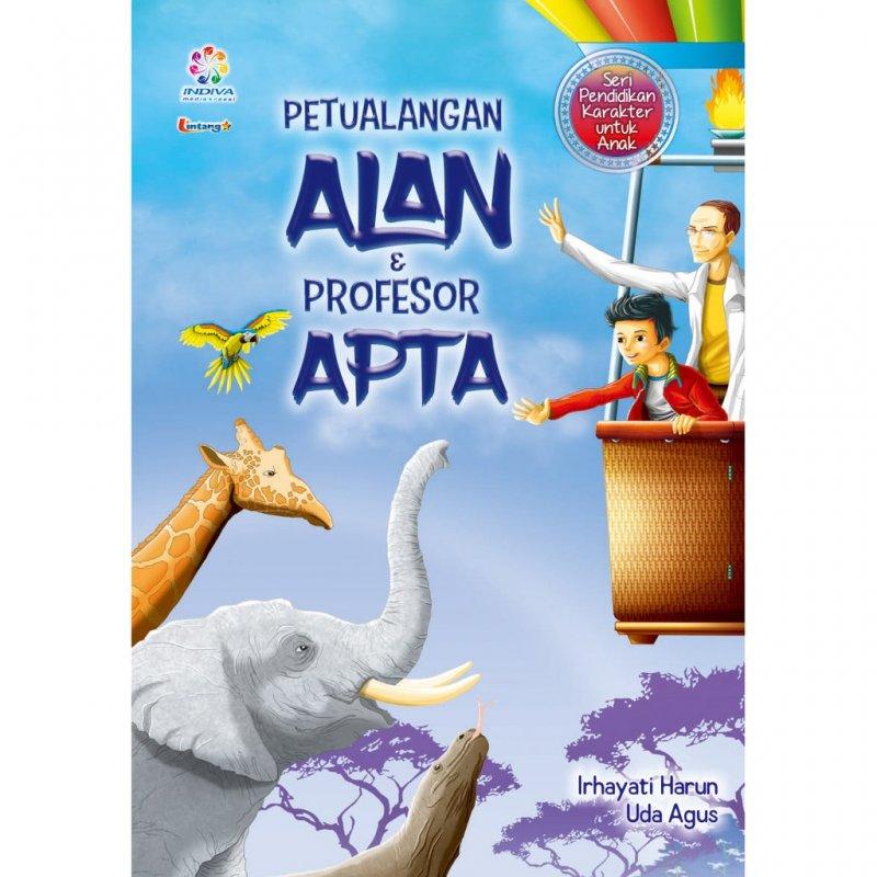 Cover Buku Petualangan ALAN PROFESOR APTA