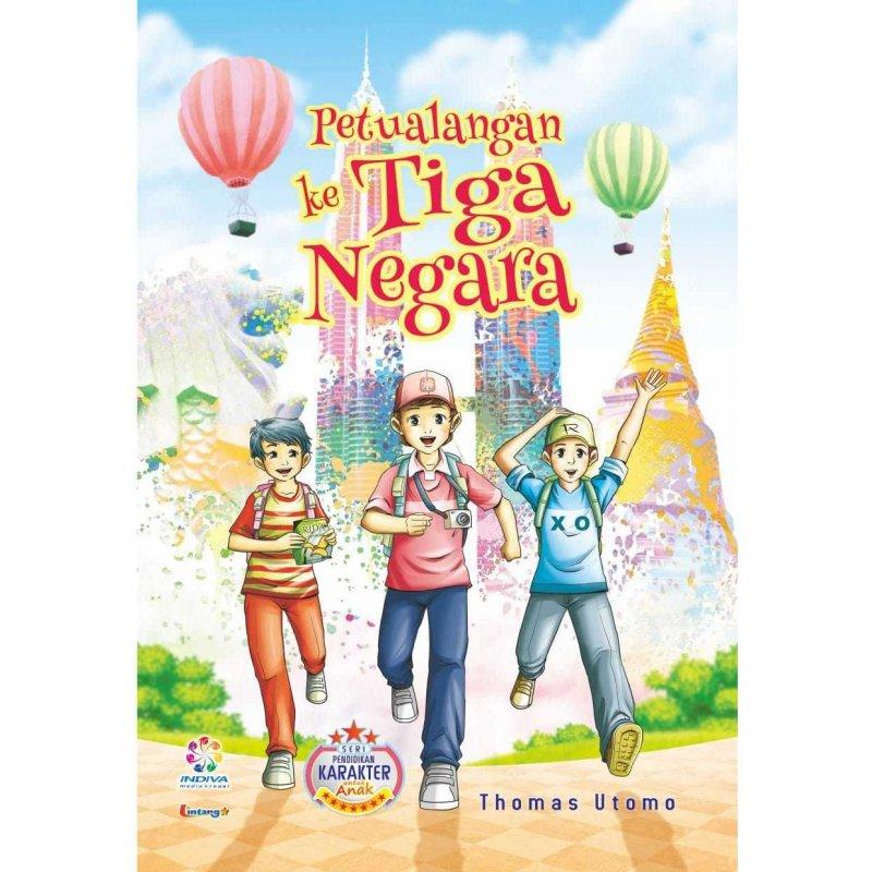 Cover Buku Petualangan ke tiga negara