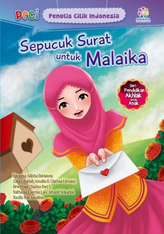 Cover Buku Sepucuk surat untuk Malaika