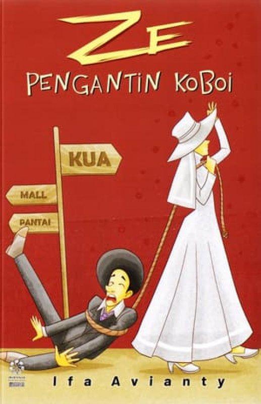 Cover Buku ZE PENGANTIN KOBOI