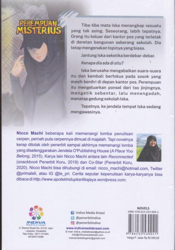 Cover Belakang Buku Perempuan Misterius