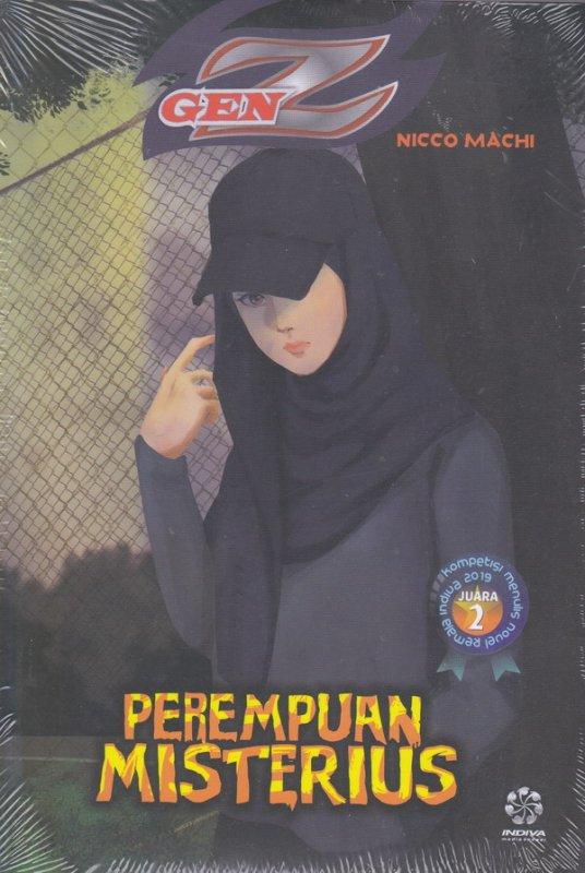 Cover Buku Perempuan Misterius